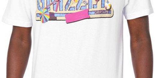 Camiseta Grizzly Pool Party Tee - White