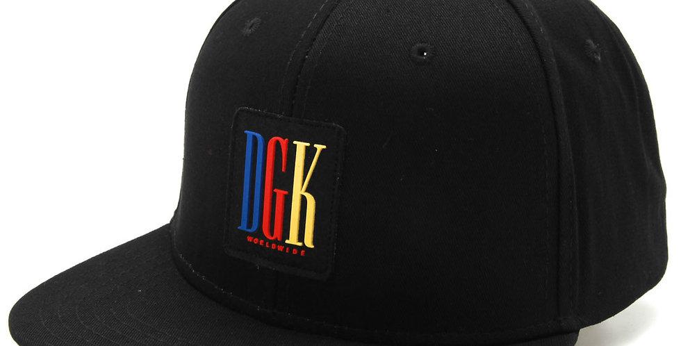 Boné DGK General Snapback - Black