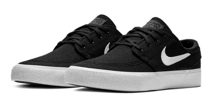 Tênis Nike SB Zoom Janoski Cnvs Rm - Black White
