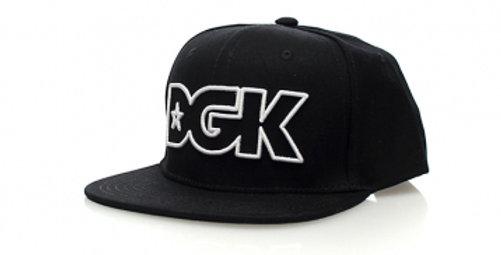 Boné DGK Outline Snapback - Black