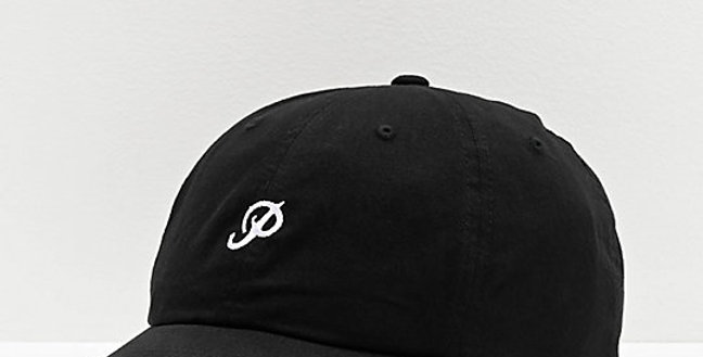 Boné Primitive Mini Classic P Dad Hat Strapback - Black