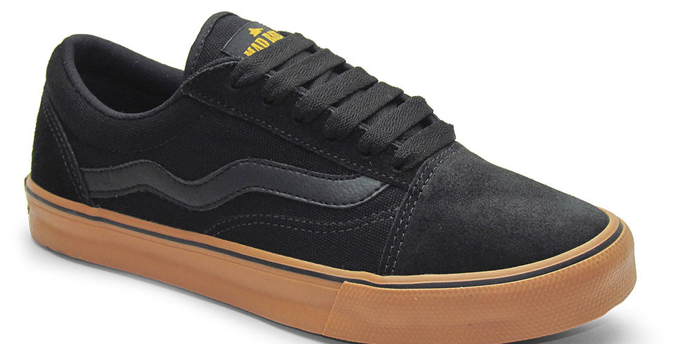 Tênis Mad Rats Old School - Black/Natural