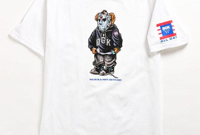 Camiseta DGK The Plug Tee - White