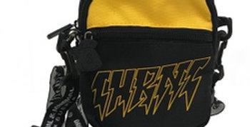 Shoulder Bag CHRONIC Black & Yellow