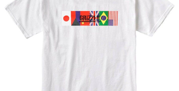 Camiseta Grizzly Internacionally Known - White