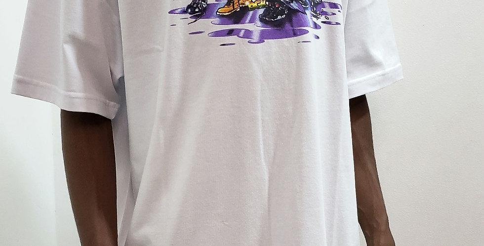 Camiseta DGK Coop Tee - White