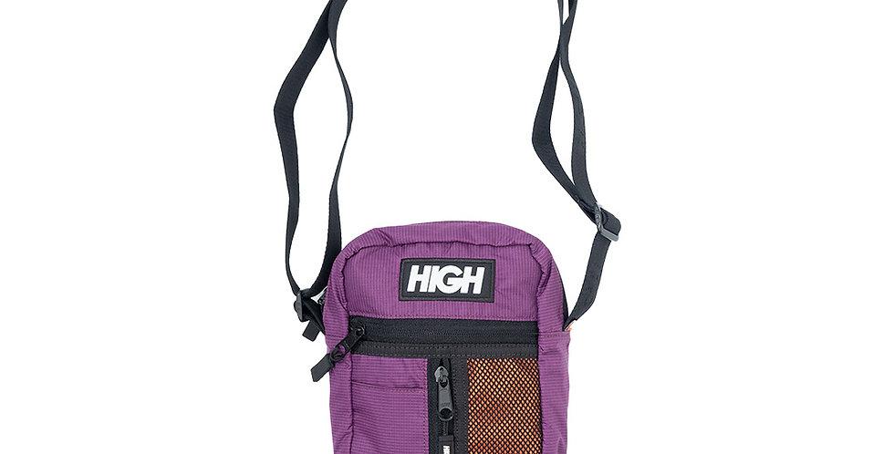Shoulder Bag HIGH Side Block - Wine Orange