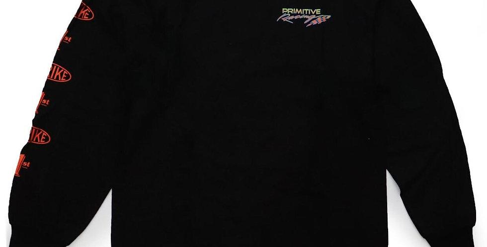 Camiseta Long Sleeve Primitive Speed Tee - Black