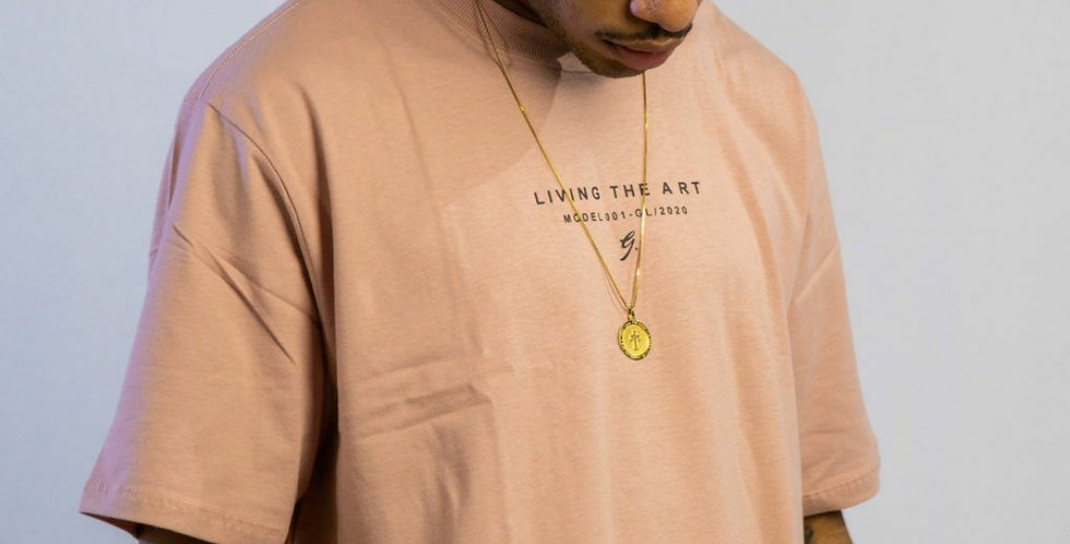 Camiseta Gold Life Gold Art - Rose