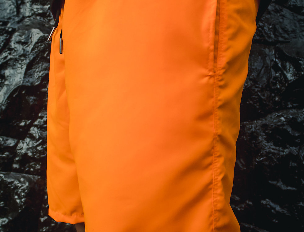 Shorts Gold Life CLEAN - Neon Orange