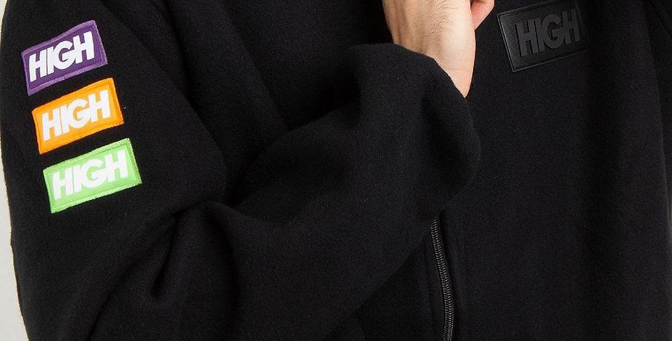 Moletom HIGH Fleece Jacket - Black