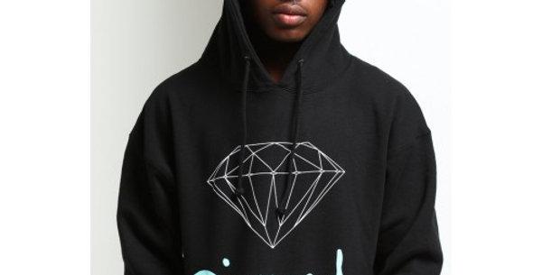 Moletom Diamond OG Sign Hoodie - Black