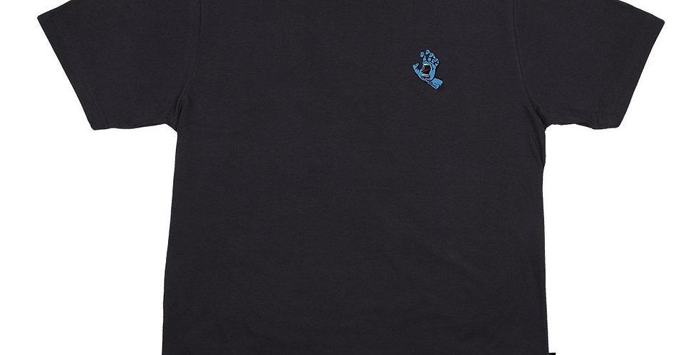 Camiseta Santa Cruz Screaming Hand - Black