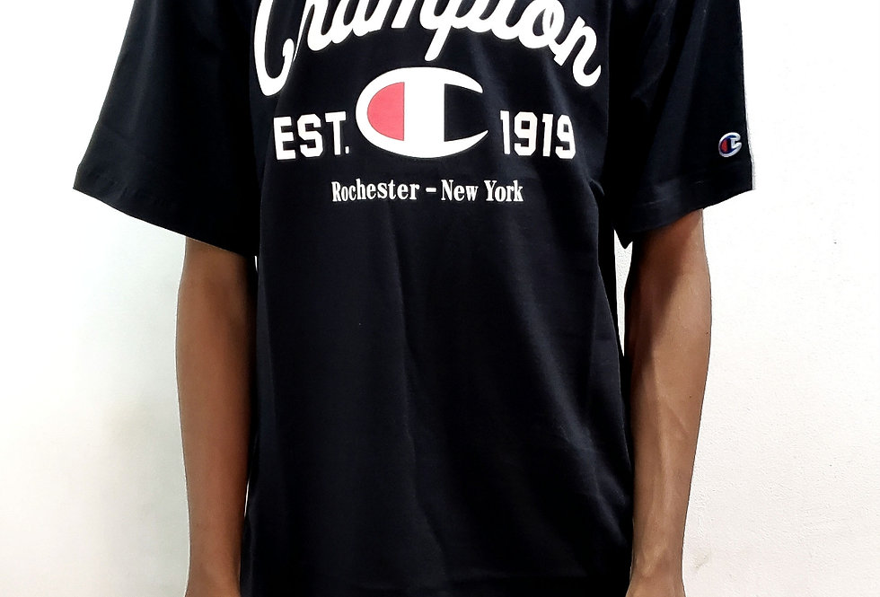 Camiseta Champion Arc Ink - Black