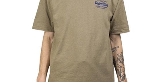 Camiseta Primitive Mission Tee - Beige