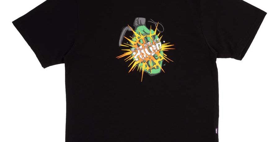 Camiseta HIGH Tee Granade - Black