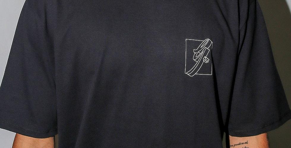 Camiseta Gold Life Vibe - Black