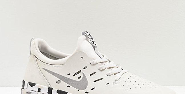 Tênis Nike SB Nyjah Free Summit - White Camouflage