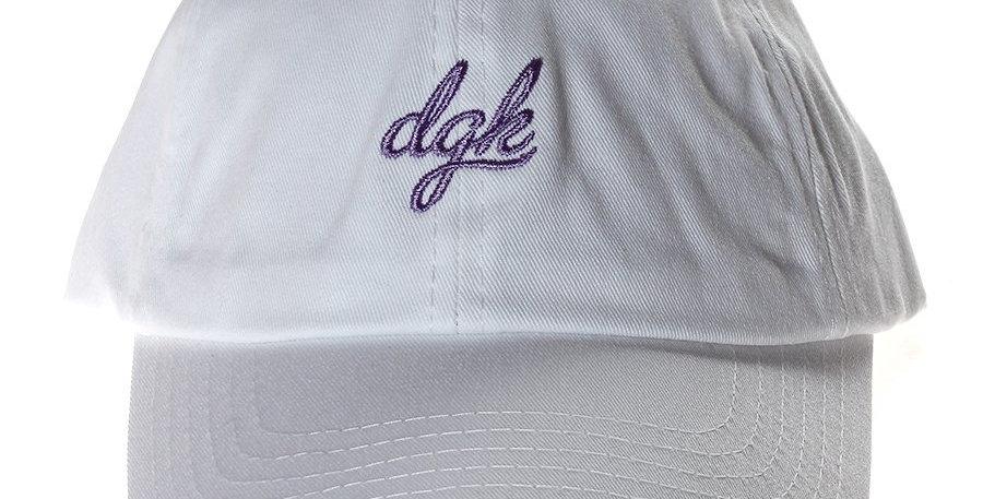 Boné DGK Loud Dad Hat Strapback - White