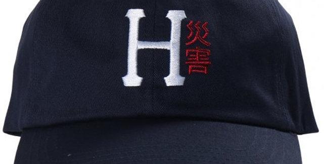 Boné Dad Hat HUF Disaster - Navy