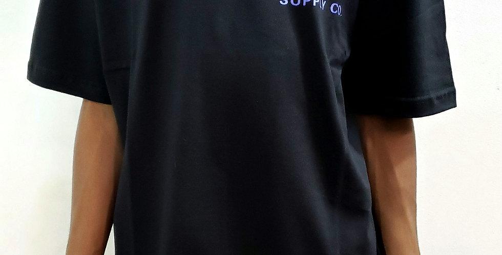 Camiseta Diamond OG Script Tee - Black
