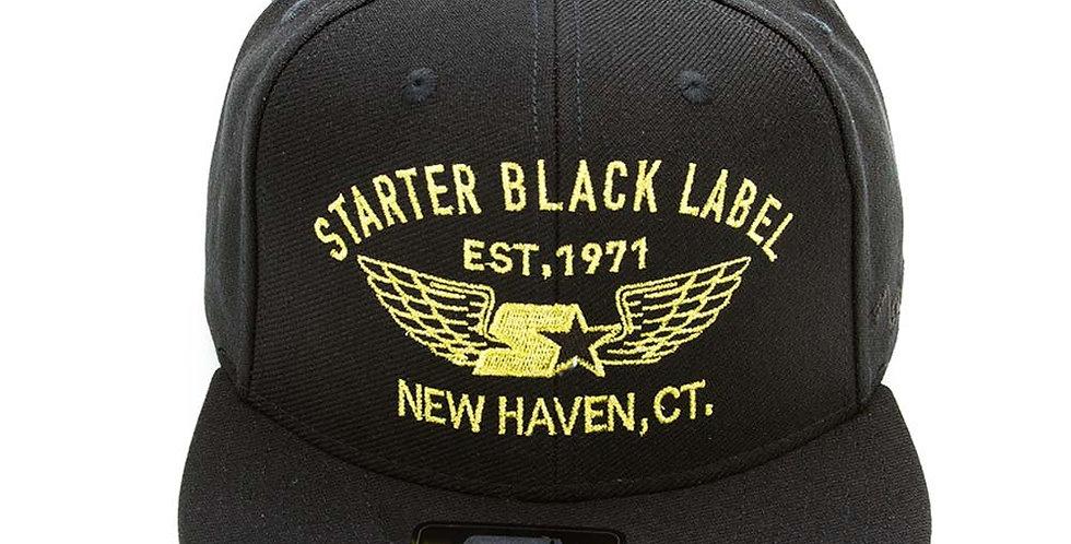 Boné Starter Militar Snapback - Black