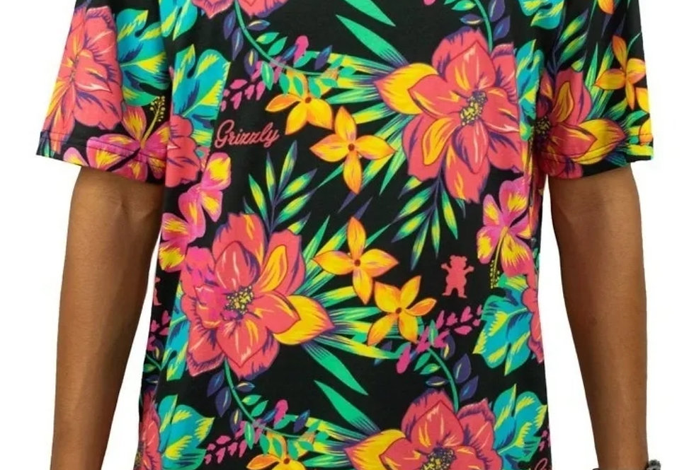 Camiseta Grizzly Maui Tee - Floral