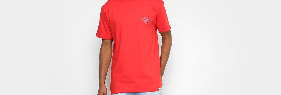Camiseta Diamond Supply Co Brilliant - Red