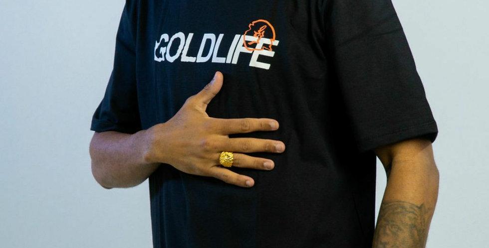 Camiseta Gold Life Turbulence - Black