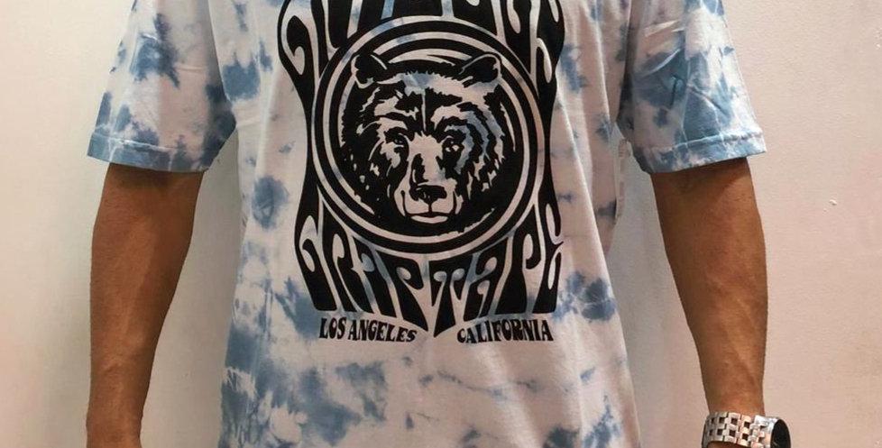 Camiseta Grizzly VERTIGO TIE DYE - Blue