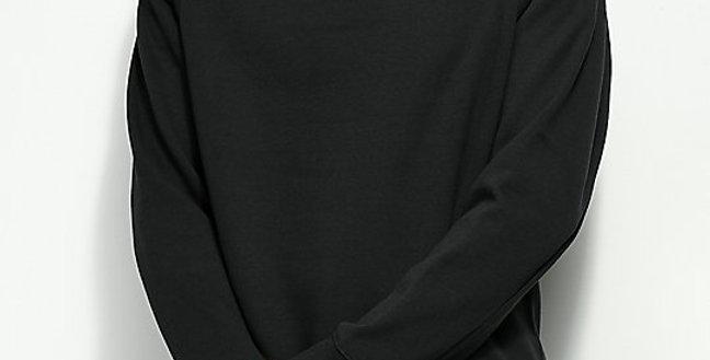 Moletom Nike SB Icon Crew Fleece - Black