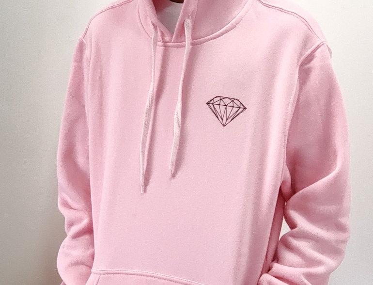 Moletom Diamond OG Brilliant Hoodie - Pink