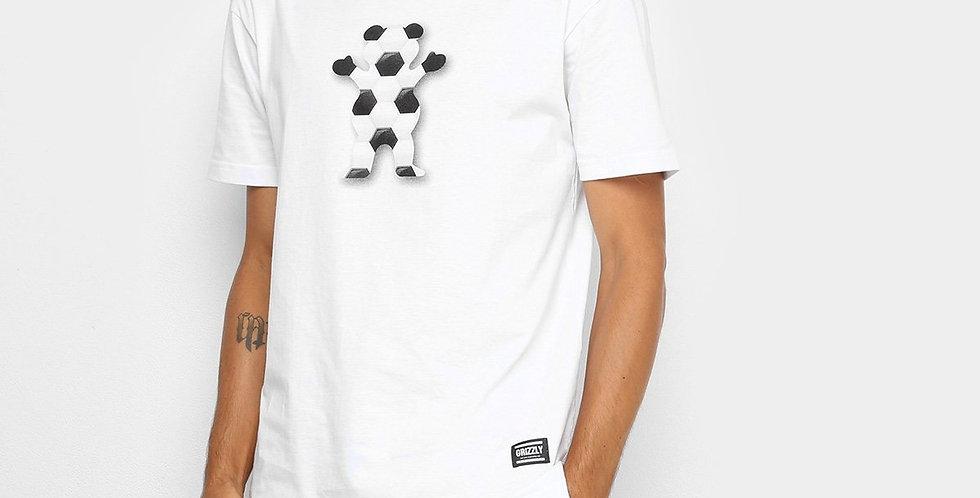 Camiseta Grizzly Sports Footbal - White