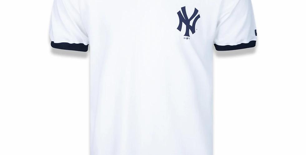 Camiseta New Era MLB NY Yankees 90s Old - Off White