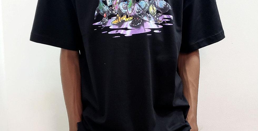 Camiseta DGK Coop Tee - Black