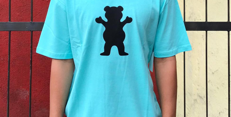 Camiseta Grizzly OG BEAR - Celadon