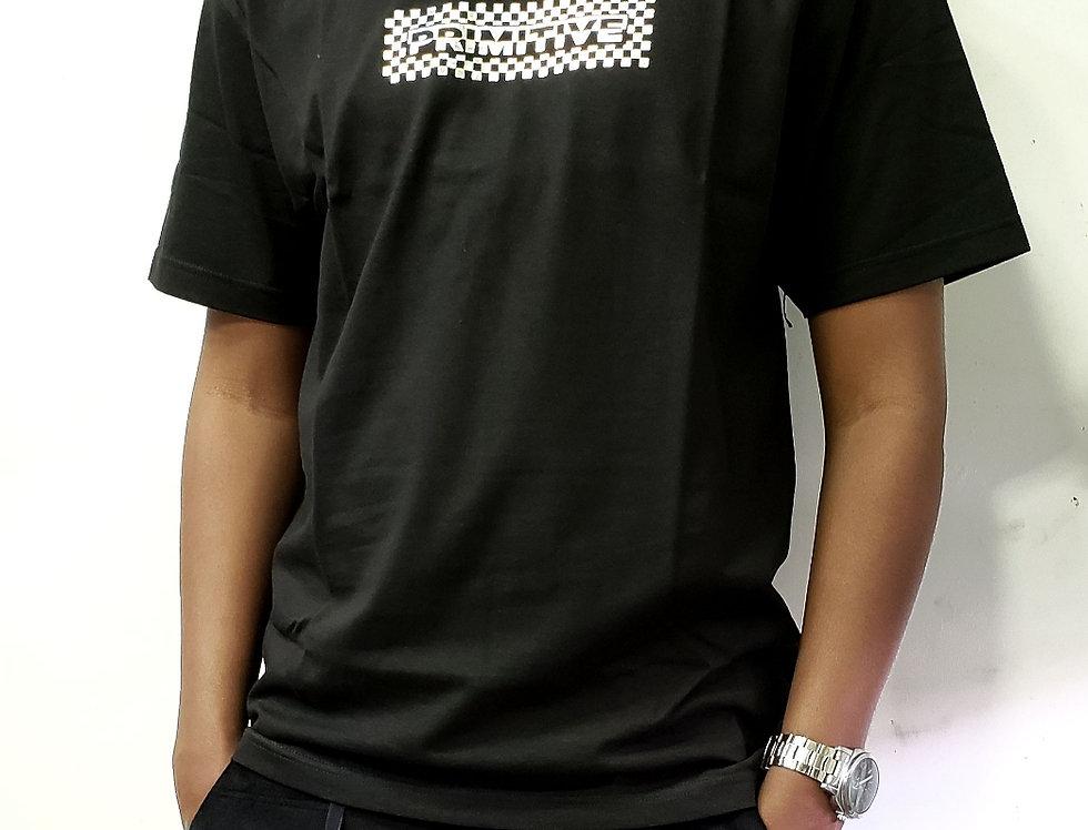 Camiseta Primitive Finish Line Hologram Foil Tee - Black