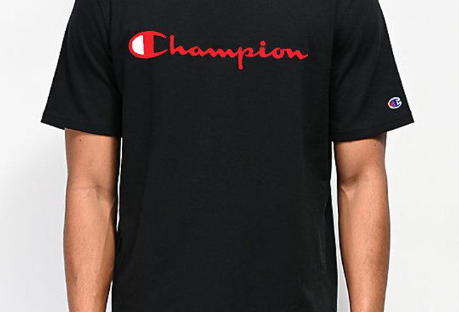 Camiseta Champion Heritage - Black