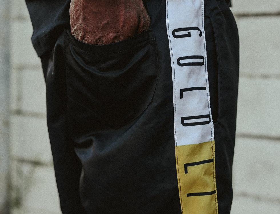 Shorts Gold Life Color Band - Black