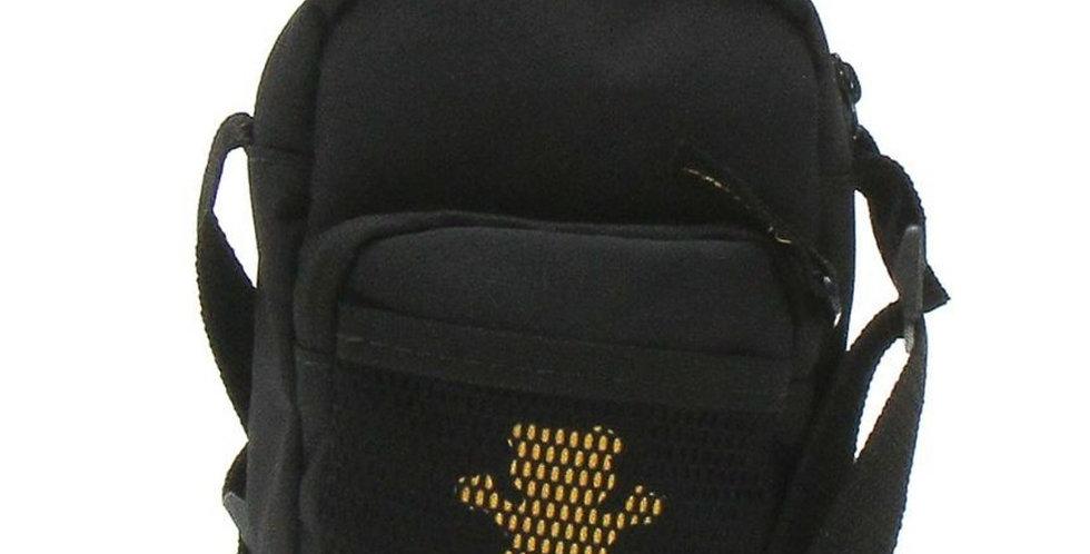 Shoulder Bag Grizzly OG Bear Hide - Black