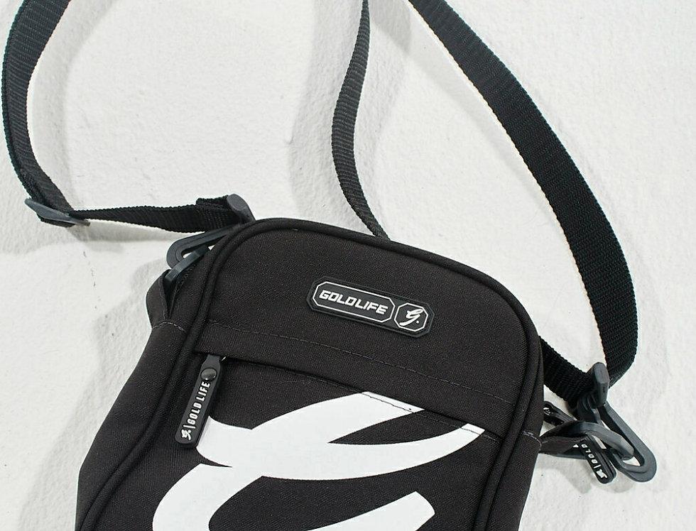 Shoulder Bag Gold Life G Patch - Black