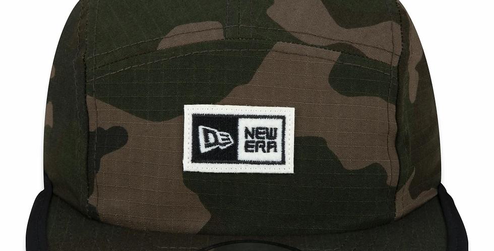 Boné New Era Camper Logo Box 5Panel Strapback Hat - Camo