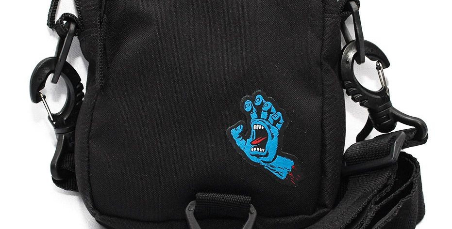 Shoulder Bag Santa Cruz SCREAMING HAND - Black