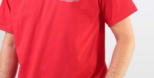 Camiseta HUF Peak - Red