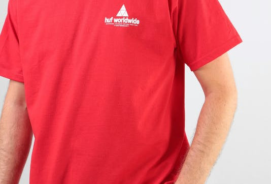 Camiseta HUF Peak - Red