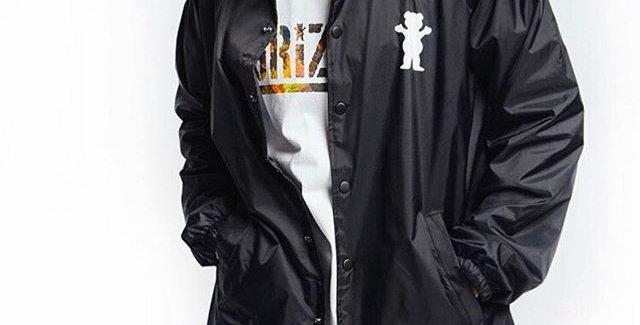 Corta Vento Grizzly Rock Crusher Jacket - Black