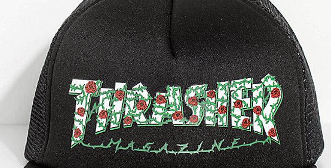 Boné Thrasher A.R. Roses Mesh Snapback - Black