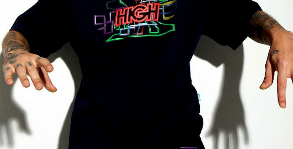Camiseta HIGH Tee Screensaver - Black