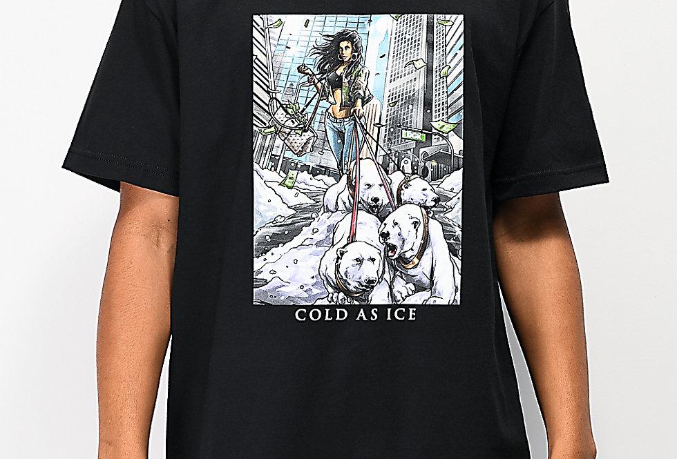 Camiseta DGK POLAR Tee - Black