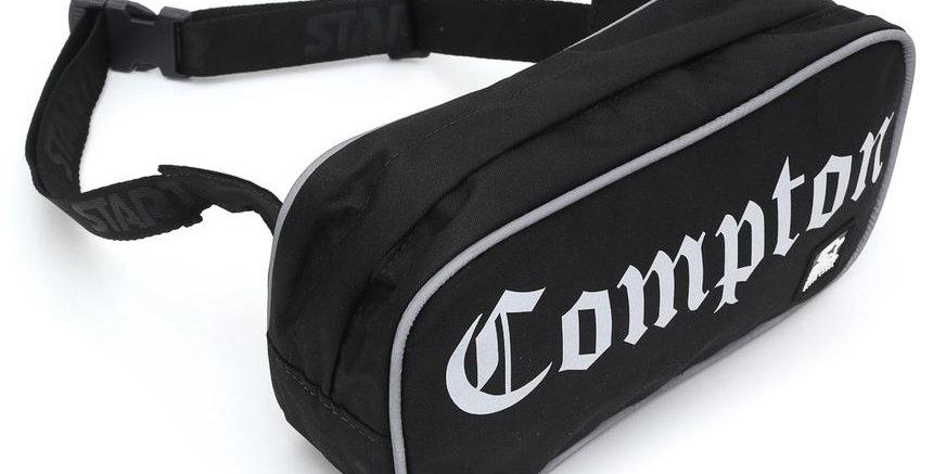 Shoulder Bag Starter Compton Transversal Refletivo - Black